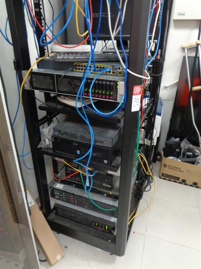 Comms Rack Comprising of