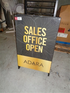 2 Assorted 'A' Frame Display Signs