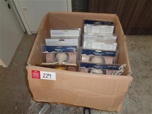 Box of Assorted Towel Rails