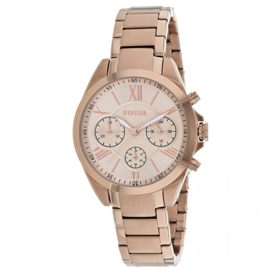 Stunning new Fossil rose gold ladies watch.