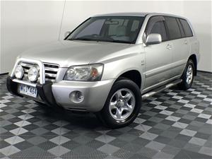 2003 Toyota Kluger CV (4x4) Automatic Wa