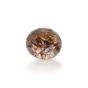 0.08ct Cognac natural diamond