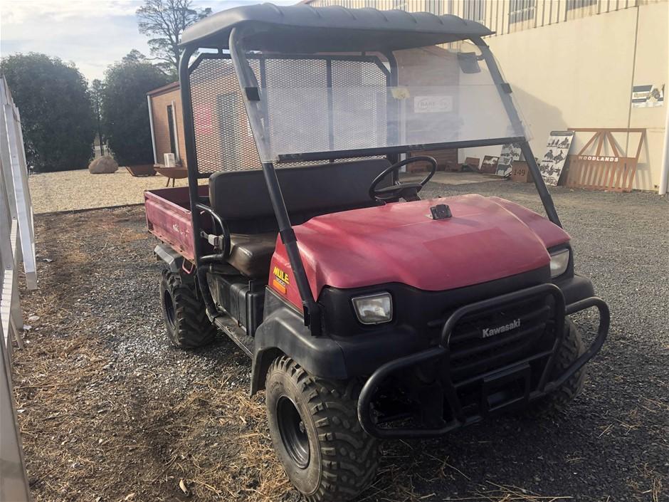 Kawasaki Mule 3000 Utility Vehicle. Model: KAF620G