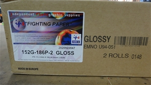 6 x IPS 15.2cm(6in)x186m GLOSS 2 ROLLS