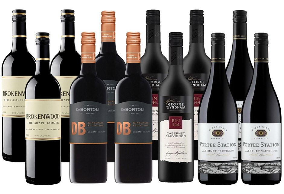 Cracking Cabernet Pack (12 x 750mL)