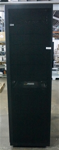 IBM Rack Cabinet with Two IBM BladeCentr