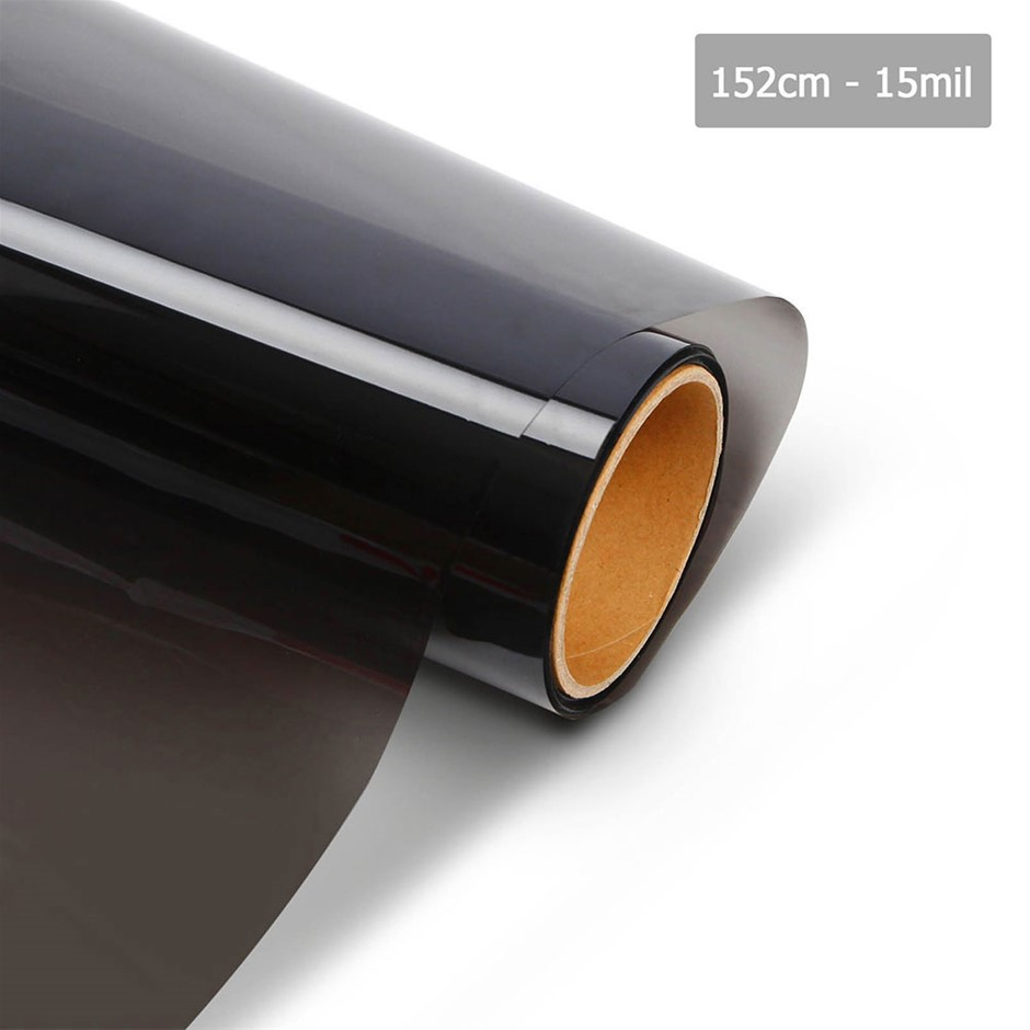 Giantz Window Tint Film Black Commercial Car Auto House Glass 152cm x 30m