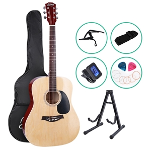 ALPHA 41 Inch Wooden Acoustic Guitar Cla