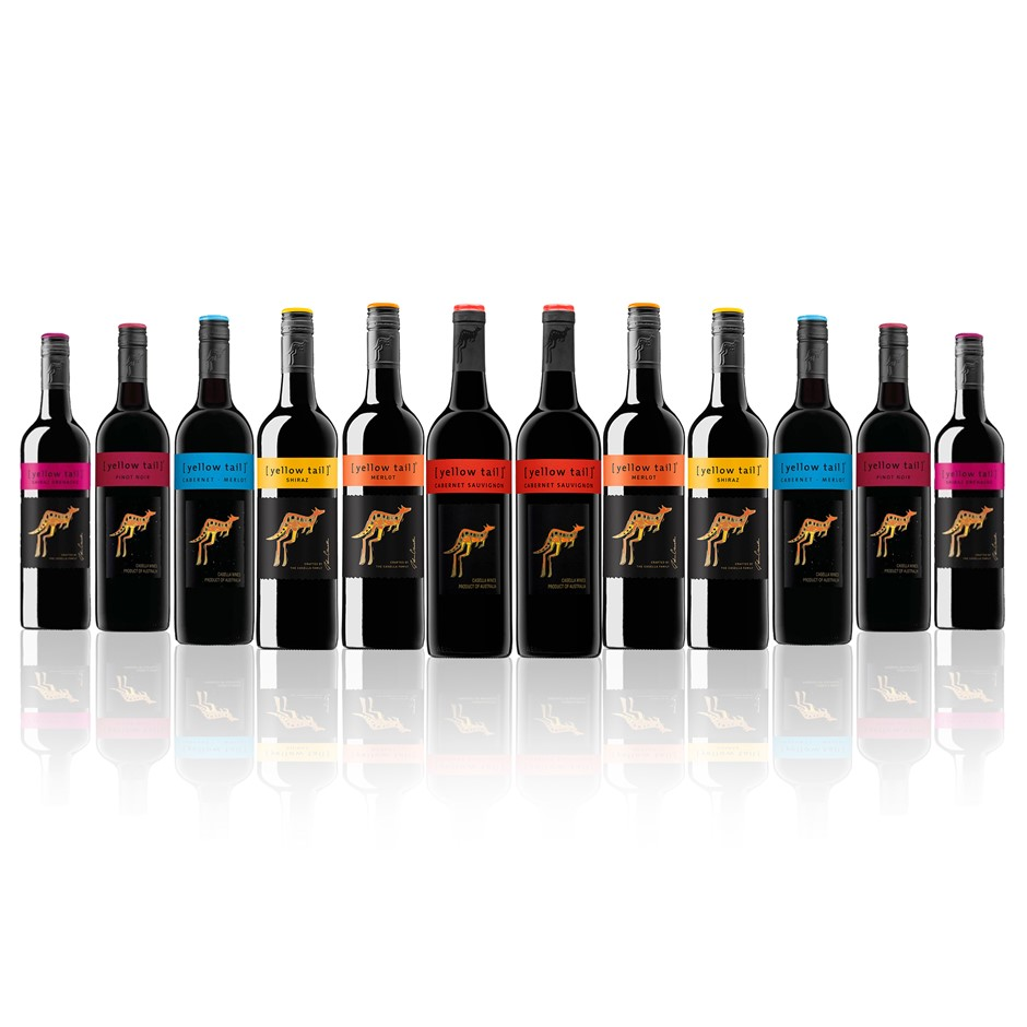 Yellow Tail Mixed Red Favourites (12 x 750mL)