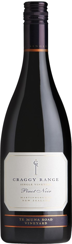 Craggy Range Te Muna Road Pinot Noir 2015 (12 x 750mL), Martinborough, NZ.