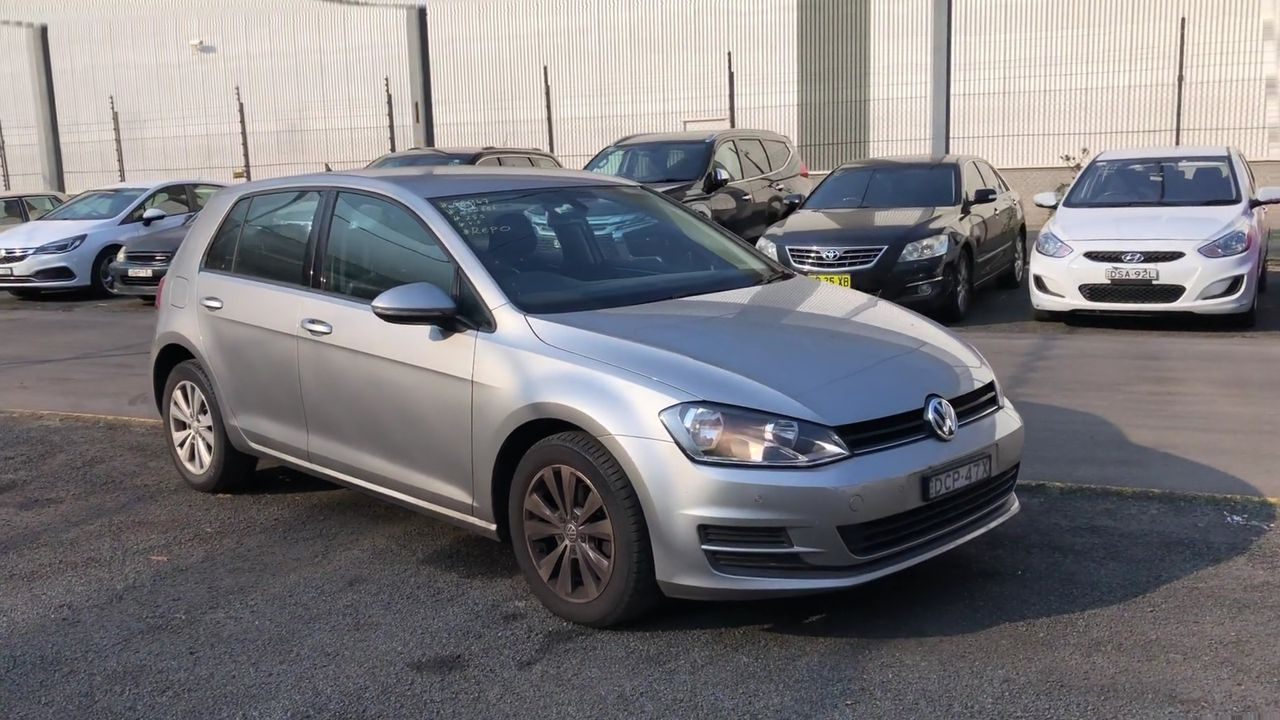 2015 Volkswagen Golf 92TSI COMFORTLINE A7 Automatic Hatchback