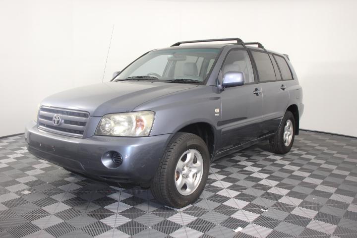 2004 Toyota Kluger CVX (4x4) Automatic 7 Seat Wagon