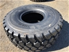 Qty of 1 x Unused 23.5R25 Radial Earthmoving Tyres