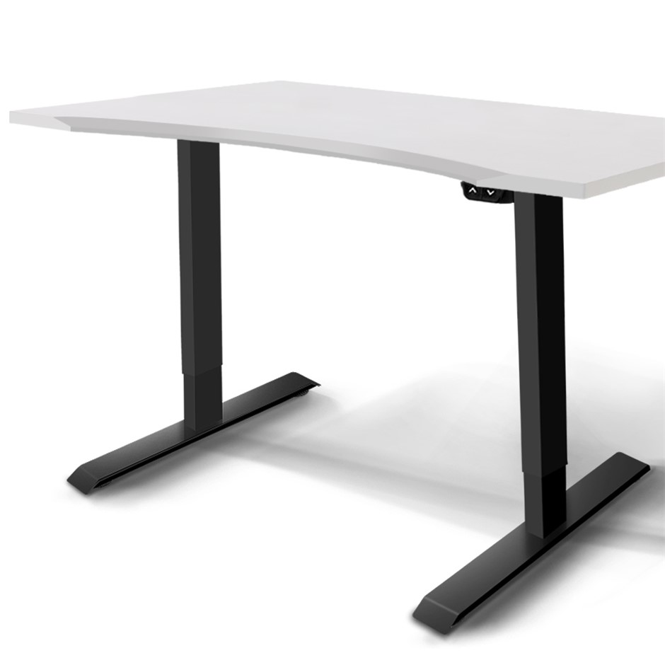 Artiss Electric Height Adjustable Standing Desk Motorised Table Office
