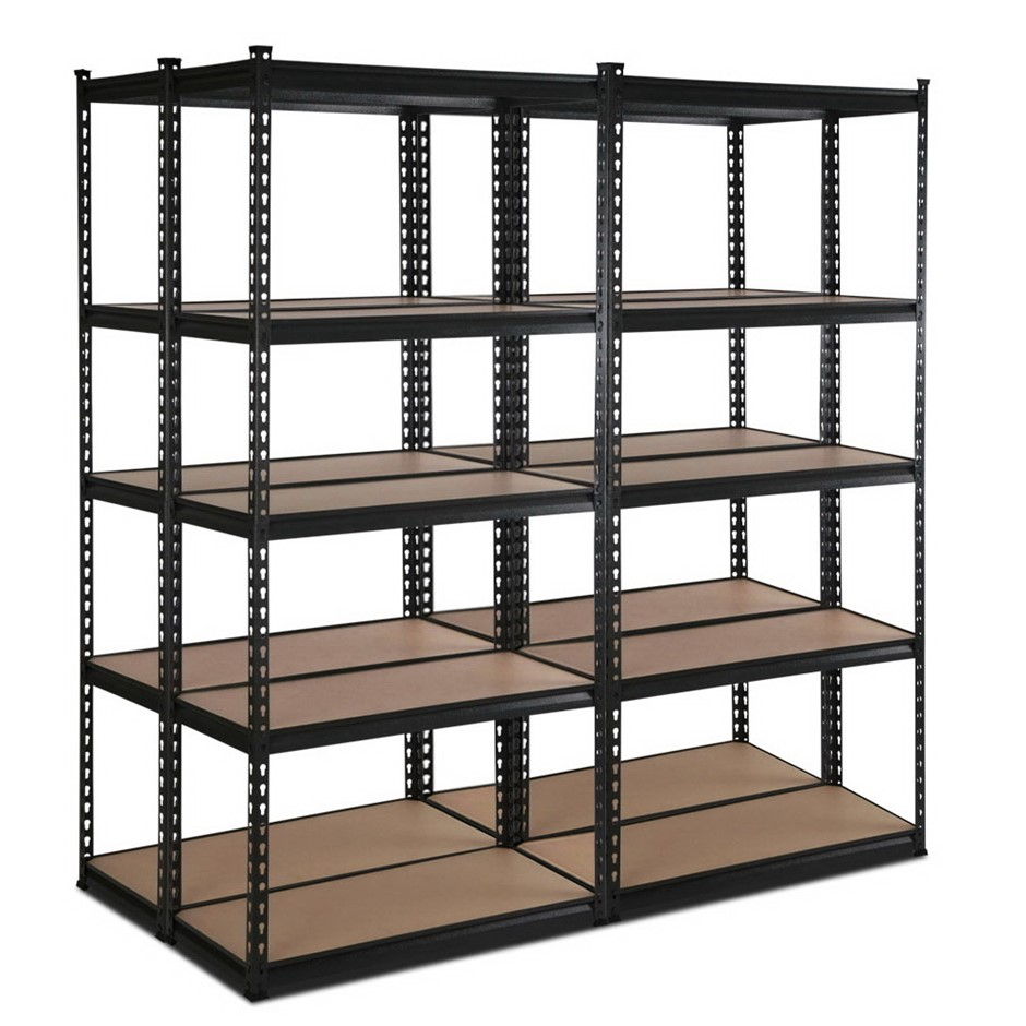 Giantz 4x0.7M Warehouse Shelving Racking Garage Storage Metal Steel Shelves
