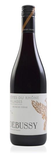 Debussy Cotes-du-Rhones Villages Grenache 2016 (12 x 750mL), France.
