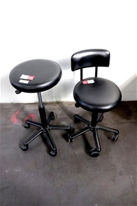Qty 1 x 2x Assorted Mobile Swivel Chair