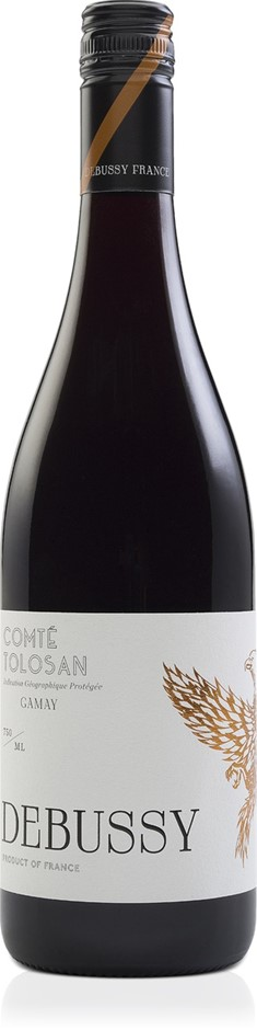 Debussy Gamay 2016 (12 x 750mL) Comte Tolosan, Sud Ouest, France.