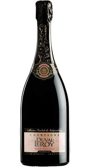 Duval-Leroy Rose Prestige Brut NV (6 x 750mL), Champagne, France.