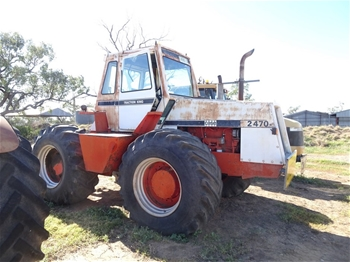 Case 2470 Traction King Tractor