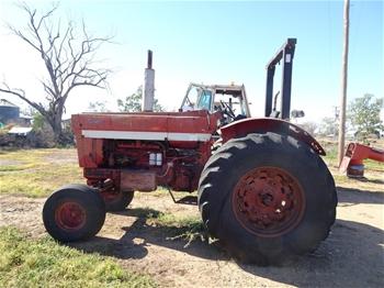 International 1066 Farmall Tractor
