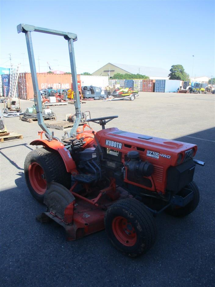 Kubota Limited Edition 038 Tractor