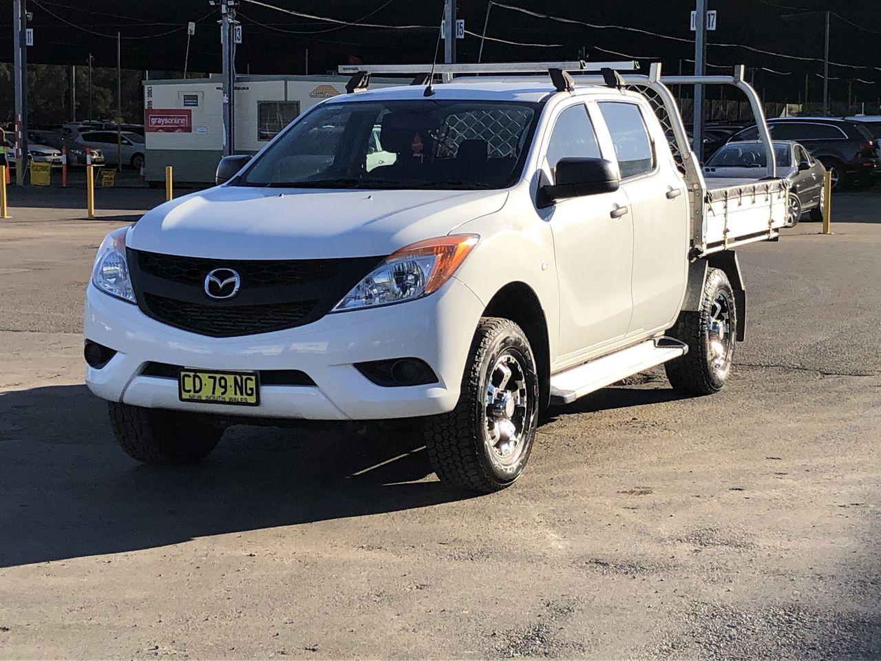 2015 Mazda BT-50 4X2 XT Turbo Diesel Manual Crew Cab Chassis