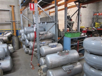 Assorted Gas Cylinders & Sundries