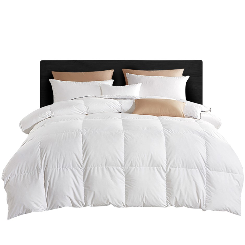 Giselle Bedding 800GSM Goose Down Feather Winter Quilt Cover Duvet Doona SK