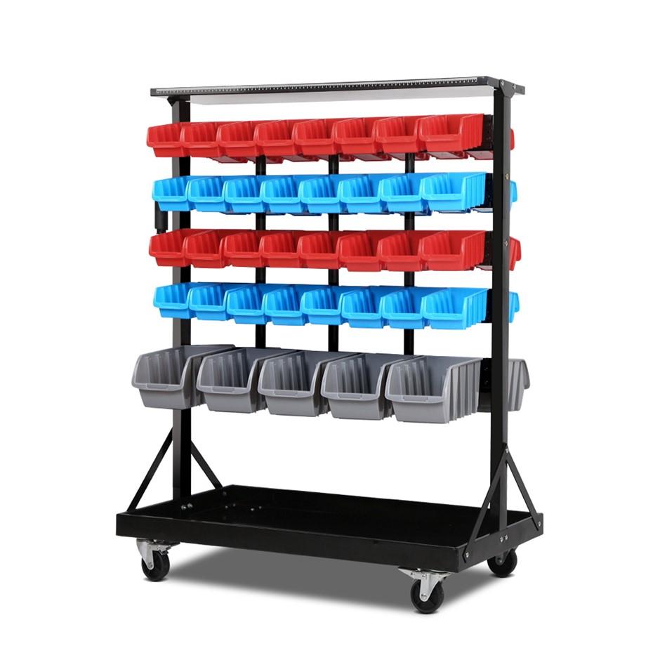 Giantz 74 Bin Dual Side Storage Shelving Racks