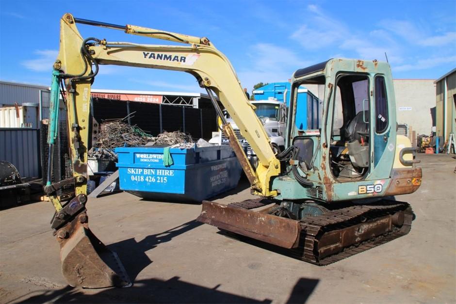 Yanmar B50 5 ton Excavator