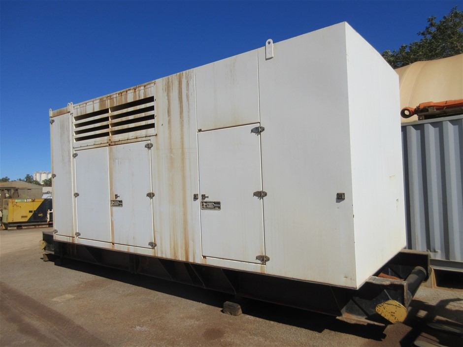 Skid Mounted Power Pack for Pumping Unit - Cat 3408