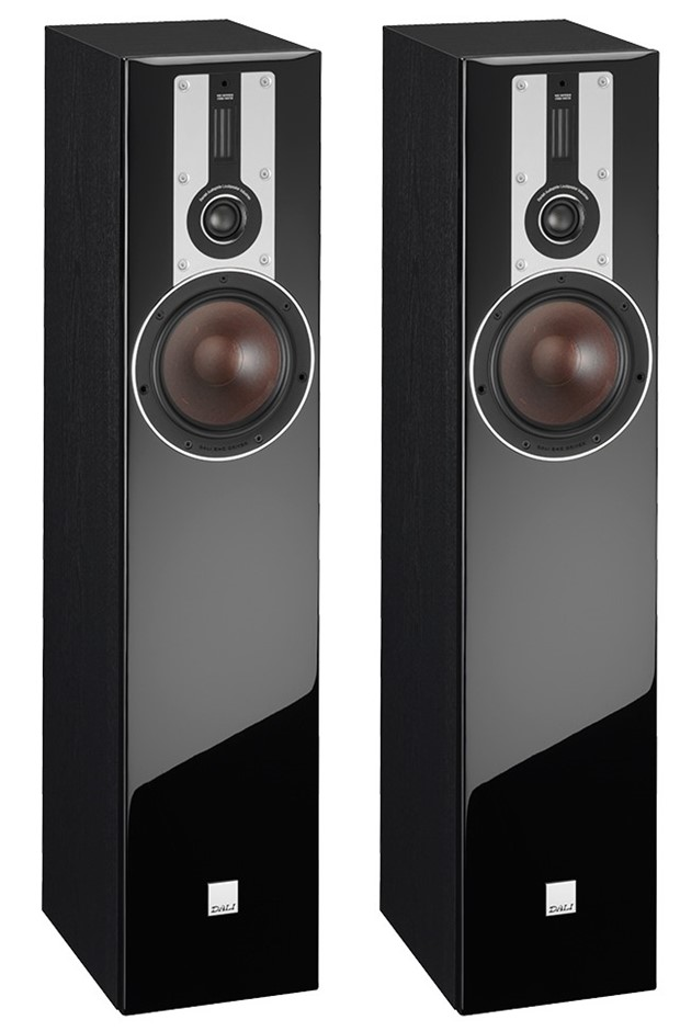 Dali Opticon 5 Floor Standing Speakers (Pair) (Black)