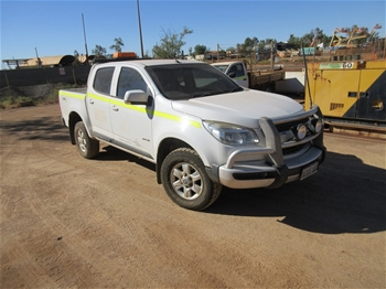 2013 Holden Colorado 4x4 Dual Cab Ute