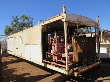 Skid Mounted Control Unit with Generators with Air Compressors