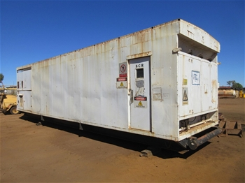 SCR Shack with Electrical Fittings and Components