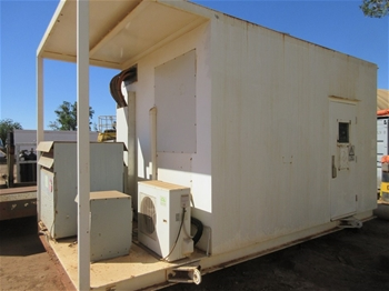 MCC Shack with 2 Transformers