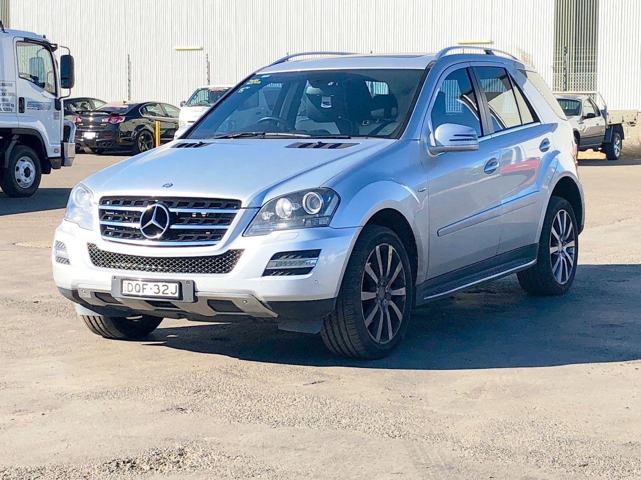 2011 Mercedes Benz ML350 CDI BLUE EFFICIENCY W164 Turbo Diesel Auto