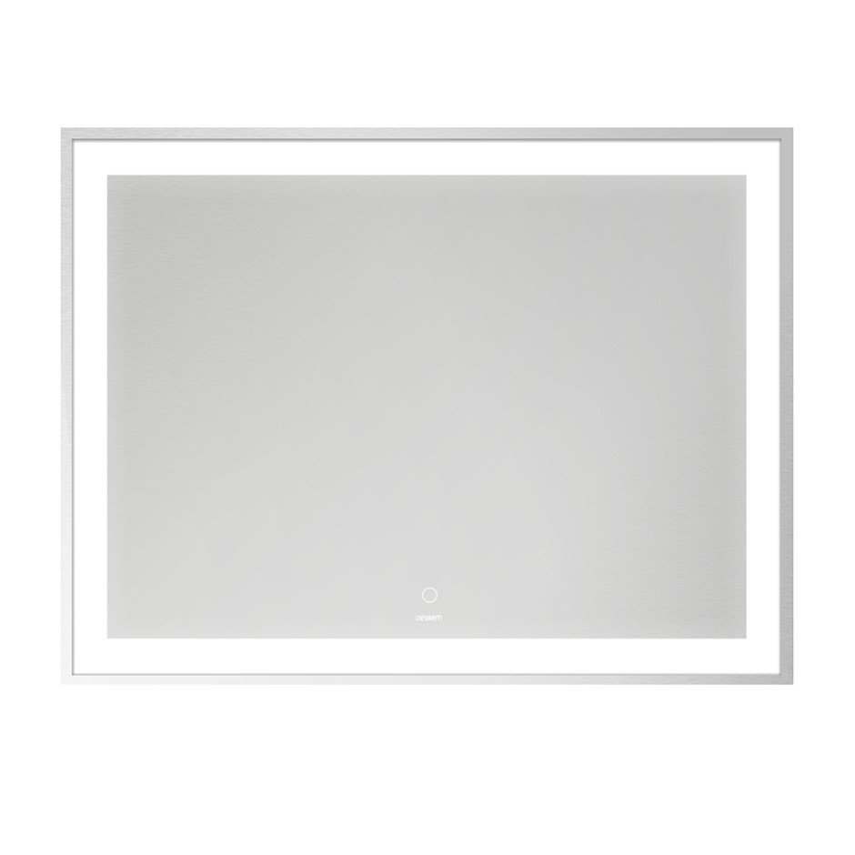 Devanti Bathroom Wall Mirror LED Light Illuminated Vanity Dressing 900MM