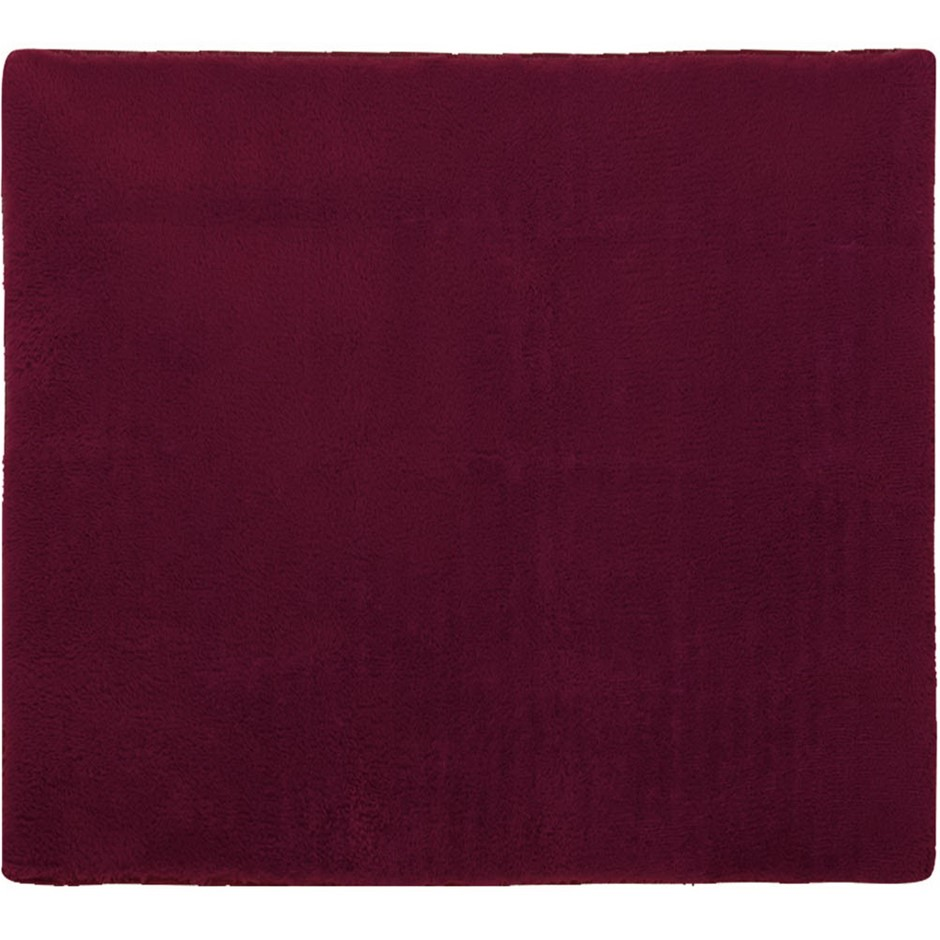 Artiss Soft Shaggy Rug Large 200x230cm Floor Carpet Area Rugs Burgundy