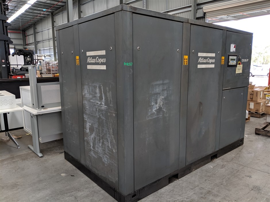 2002 Atlas Copco GA90-FF Air Compressor