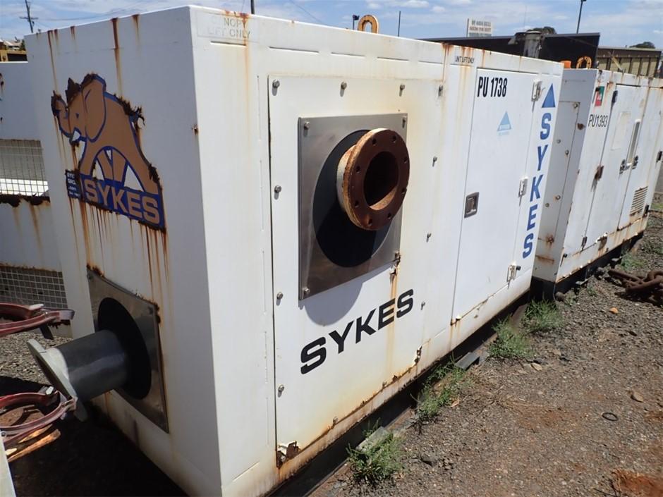 Sykes Pump in Silenced Enclosure