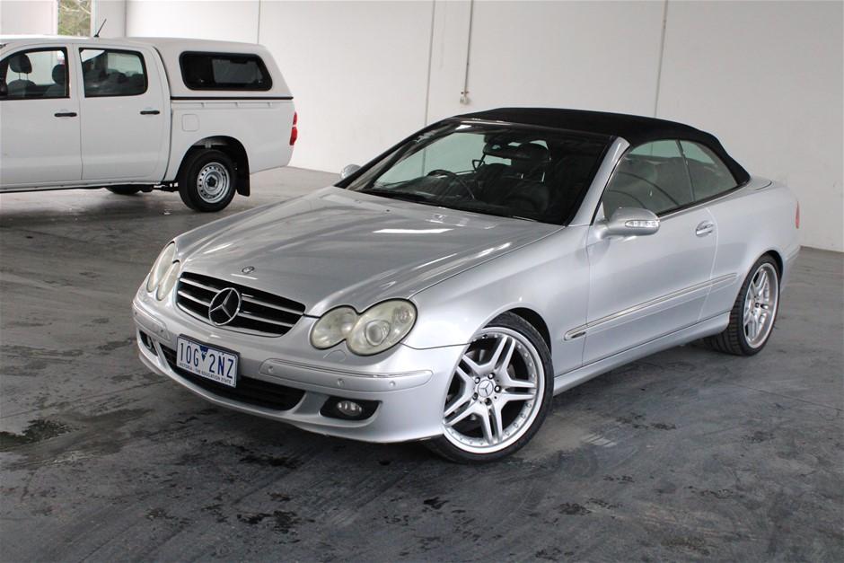 2005 Mercedes Benz CLK280 Avantgarde Automatic Convertible