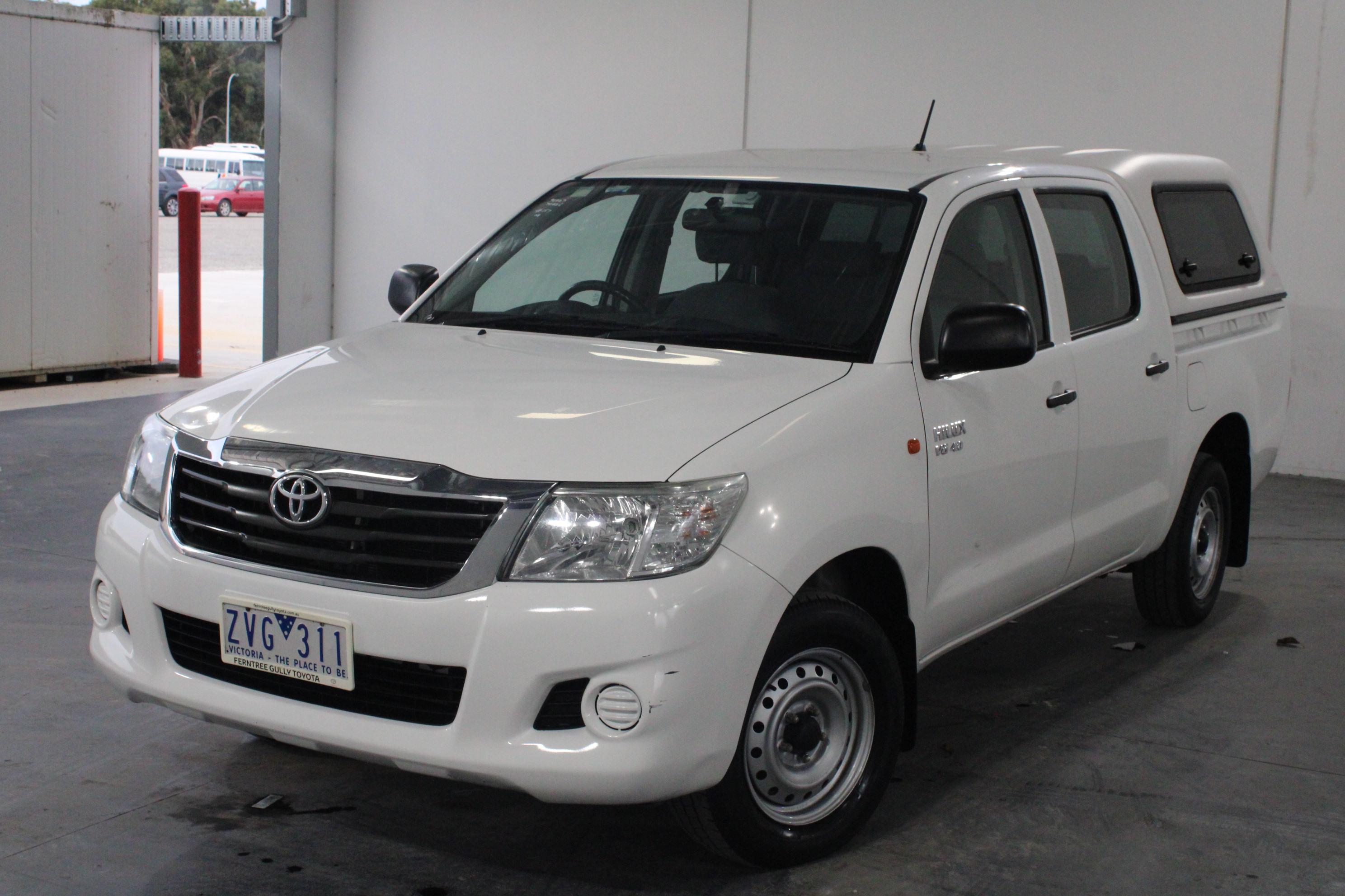 2013 Toyota Hilux SR GGN15R Automatic Dual Cab (Ex-Gov)