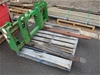(Lot 703) 1 x Tractor Forklift Attachment