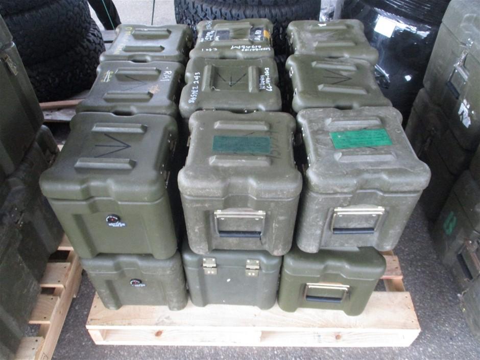 (Lot 773) 18 x Plastic Storage Boxes