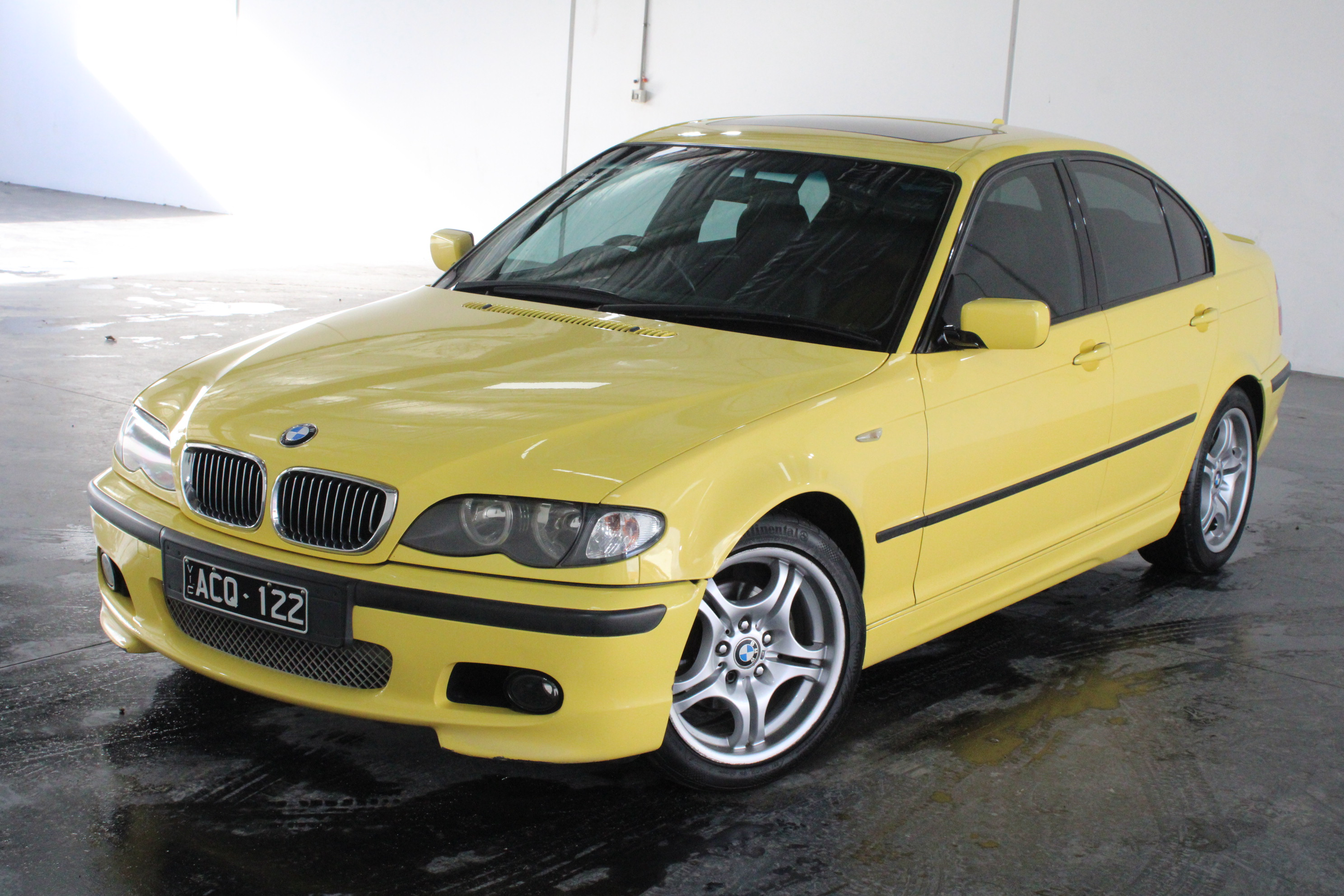 2002 BMW 3 18i E46 M-Sport Individual Dakar Yellow Automatic Sedan