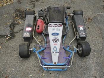 J100 Go Kart HAASE Chassis