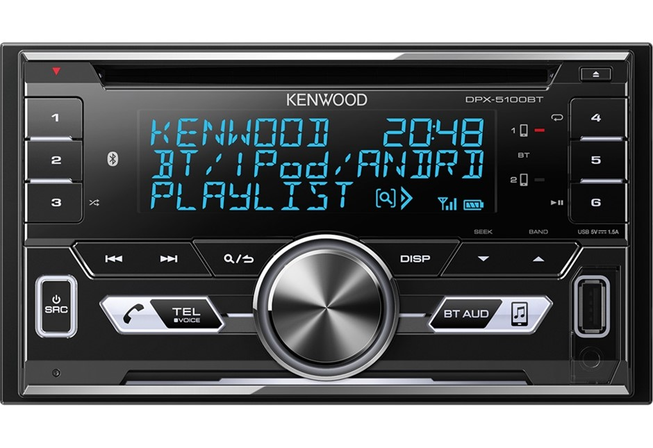 Kenwood DPX-5100BT Bluetooth USB / CD Head Unit