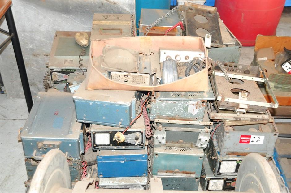 Pallet of Old Radio-Telephones